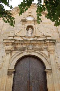 Portón iglesia Cerollera